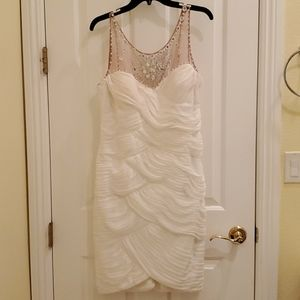 Pure White Mid Dress Gown